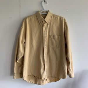 Urban Outfitters Button Up (Yellow)